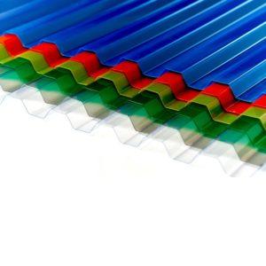Монолитный поликарбонат 1,05 х 6 м (все цвета)